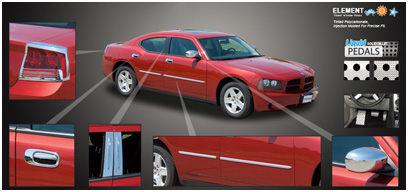 Dodge Charger Chrome Accessories